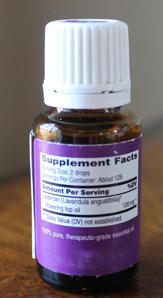 essential oils food supplement
