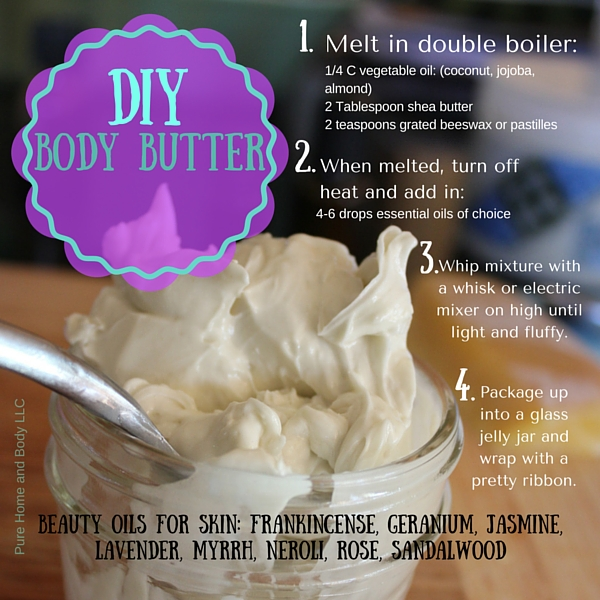 Make your own lotion and Body Butter