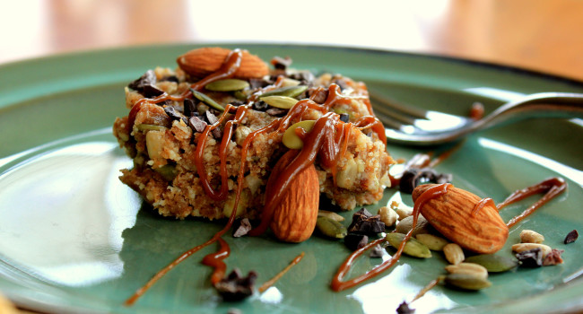 Paleo bars, healthy and nutritious