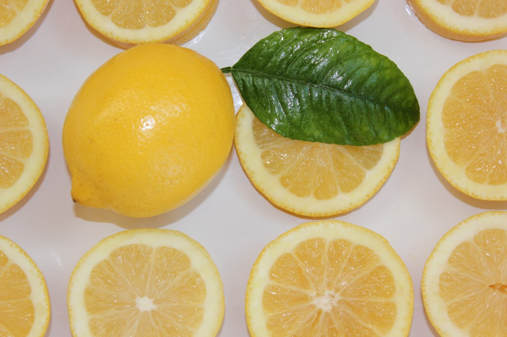 natural health care with lemons