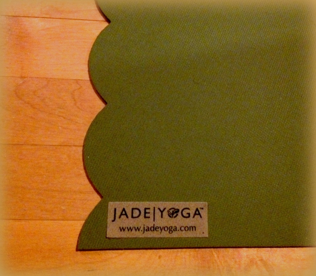 Jade natural rubber Yoga mat