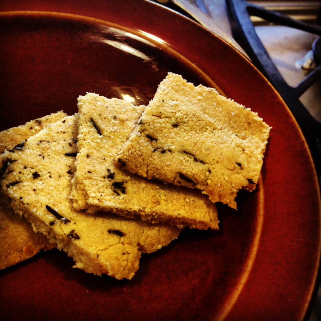 gluten free almond flour crackers
