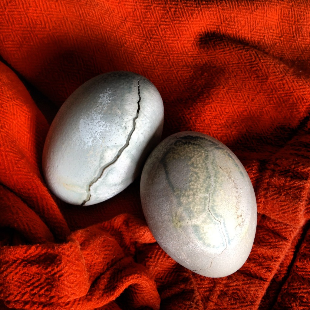tea-dyed eggs