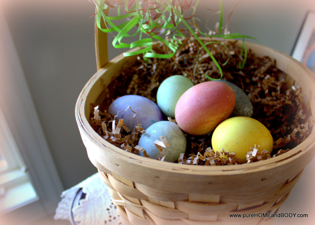 chemical free egg dyes