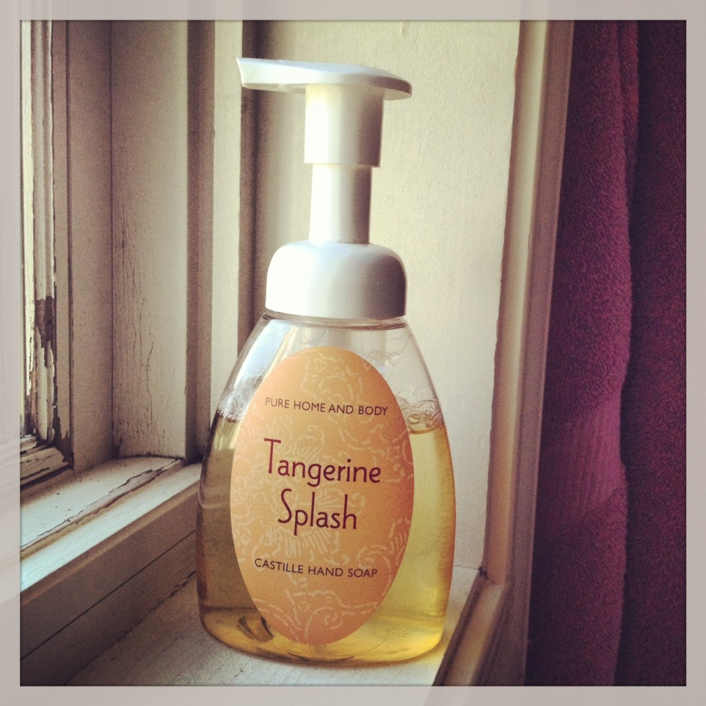 Make your own foaming hand soap simple