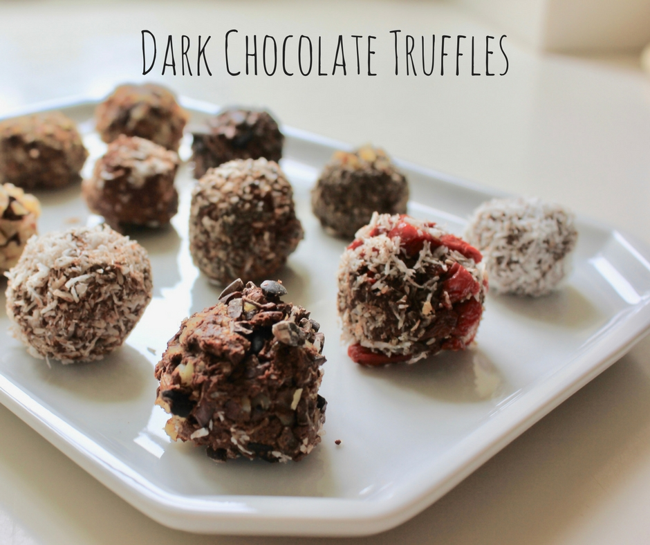 Chocolate Truffles & Paleo Protein Bars