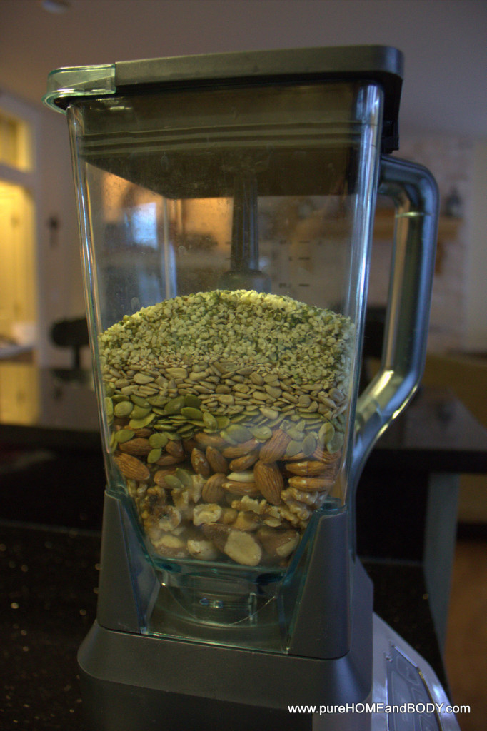 soaking nuts and seeds helps with absorbing nutrients