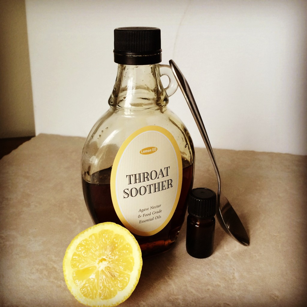 Essential Oil cough syrup