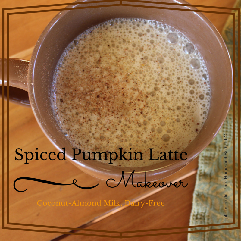 Natural Pumpkin-Spiced Latte, Dairy Free