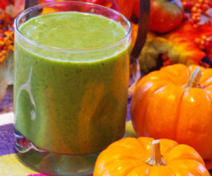 Pumpkin and Avocado Smoothie