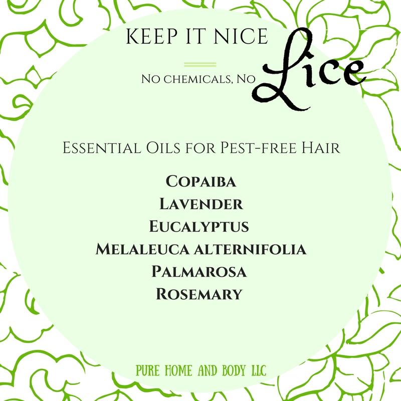 copaiba, lavender, eucalyptus, palmarosa, melaleuca alternifolia, palmarosa, rosemary